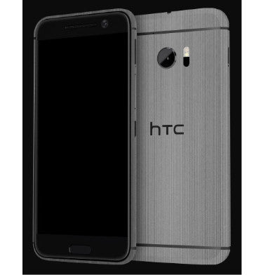 HTC 10 PREMIUM 3M CARBON FIBRE BACK/UPPER/LOWER SKIN TITANIUM | DBRAND