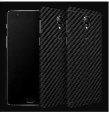 ONEPLUS 3 PREMIUM 3M CARBON FIBRE BACK/UPPER/LOWER SKIN BLACK CARBON | DBRAND
