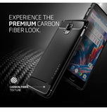 ONEPLUS 3 PREMIUM RUGGED ARMOR CASE BLACK | SPIGEN