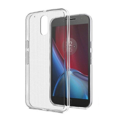 MOTO G PLUS 4TH GEN SLIM TPU CASE CRYSTAL CLEAR 2PK | SPARIN