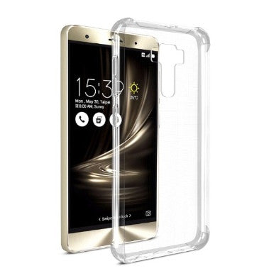 ASUS ZENFONE 3 DELUXE ZS570KL SLIM TPU CASE CRYSTAL CLEAR 2PK | SPARIN
