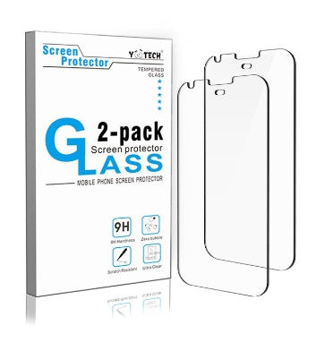 GOOGLE PIXEL XL PREMIUM TEMPERED GLASS SCREEN PROTECTOR 9H 2PK | YOOTECH