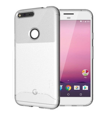 GOOGLE PIXEL XL PREMIUM ULTRA SLIM ARCH CASE FROSTED CLEAR | TUDIA