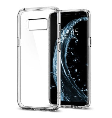SAMSUNG GALAXY S8 PREMIUM AIR CUSHION HYBRID CASE CRYSTAL CLEAR | SPIGEN