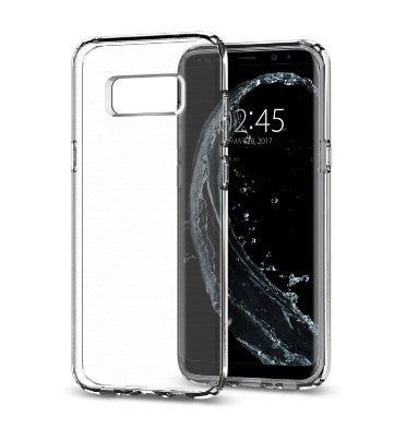 SAMSUNG GALAXY S8+ PLUS PREMIUM SLIM LIQUID CRYSTAL CASE CLEAR | SPIGEN