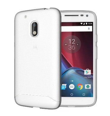 MOTO G PLAY 4TH GEN ULTRA SLIM ARCH CASE FROSTED CLEAR | TUDIA