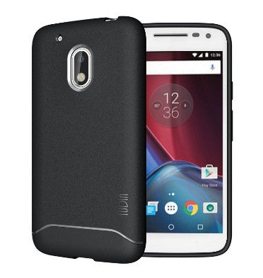 MOTO G PLAY 4TH GEN ULTRA SLIM ARCH CASE MATTE BLACK | TUDIA
