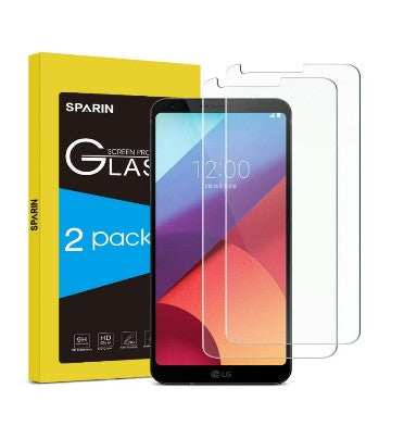 LG G6 PREMIUM TEMPERED GLASS SCREEN PROTECTOR 9H 2PK | SPARIN