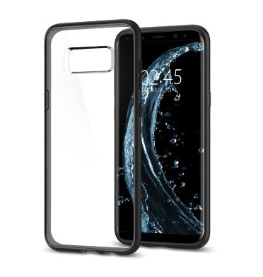 SAMSUNG GALAXY S8 PREMIUM AIR CUSHION HYBRID CASE MATTE BLACK | SPIGEN