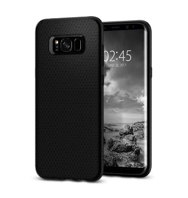 SAMSUNG GALAXY S8 PREMIUM SLIM LIQUID AIR CASE BLACK | SPIGEN