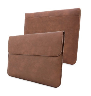 MICROSOFT SURFACE PRO 4 PREMIUM PU LEATHER SLEEVE COVER BROWN | SNUGG