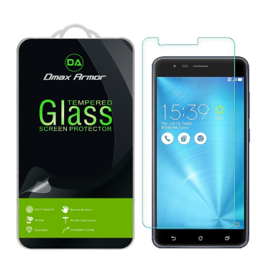 ASUS ZENFONE 3 ZOOM PREMIUM TEMPERED GLASS SCREEN PROTECTOR 9H 2PK | DMAX ARMOR