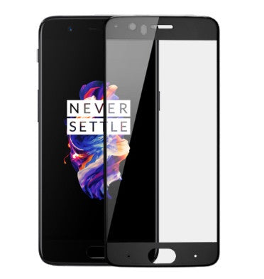 ONEPLUS 5 PREMIUM 3D TEMPERED GLASS SCREEN PROTECTOR BLACK | ONEPLUS