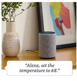 AMAZON ECHO PLUS (2018) WITH BUILT-IN SMART HUB HEATHER GRAY