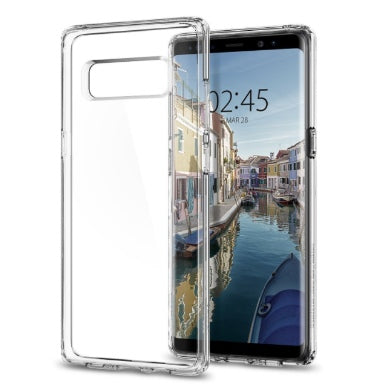 SAMSUNG GALAXY NOTE 8 PREMIUM AIR CUSHION HYBRID CASE CRYSTAL CLEAR | SPIGEN