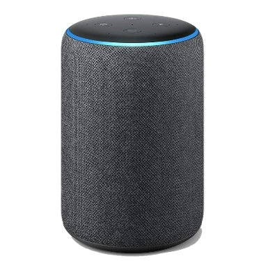 AMAZON ECHO PLUS (2018) WITH BUILT-IN SMART HUB CHARCOAL