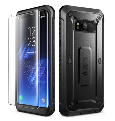 SAMSUNG GALAXY S8 FULL BODY RUGGED PROTECTIVE CASE WITH SCREEN PROTECTOR | SUPCASE