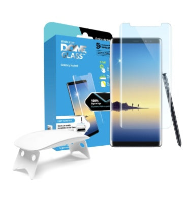 SAMSUNG GALAXY NOTE 8 TEMPERED SCREEN PROTECTOR DOME GLASS | WHITESTONE