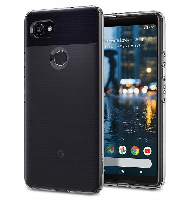 GOOGLE PIXEL 2 XL PREMIUM SLIM LIQUID CRYSTAL CASE CLEAR | SPIGEN