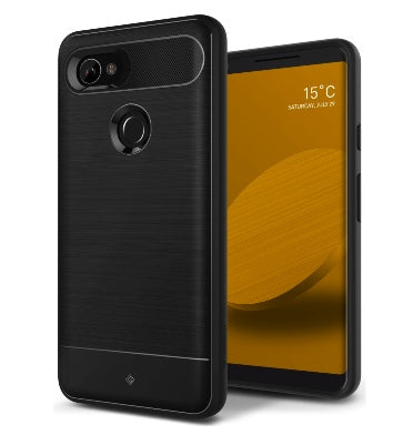 GOOGLE PIXEL 2 XL PREMIUM SLIM RUGGED CASE BLACK VAULT SERIES | CASEOLOGY