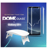 SAMSUNG GALAXY S9+ TEMPERED SCREEN PROTECTOR 3D CURVED DOME GLASS | WHITESTONE