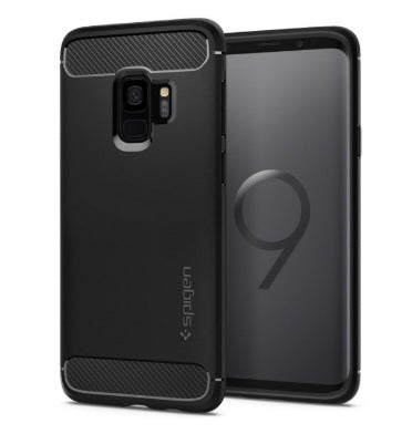 SAMSUNG GALAXY S9+ PREMIUM RUGGED CASE BLACK | SPIGEN