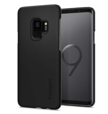 SAMSUNG GALAXY S9 PREMIUM THIN FIT CASE BLACK | SPIGEN