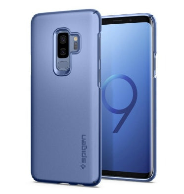 SAMSUNG GALAXY S9+ PREMIUM THIN FIT CASE CORAL BLUE | SPIGEN