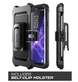 SAMSUNG GALAXY S9 FULL BODY RUGGED PROTECTIVE CASE WITH SCREEN PROTECTOR BLACK | SUPCASE