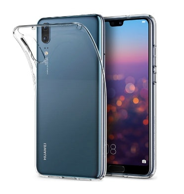HUAWEI P20 PREMIUM SLIM LIQUID CRYSTAL CASE CLEAR | SPIGEN