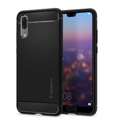 HUAWEI P20 PREMIUM RUGGED CASE BLACK | SPIGEN