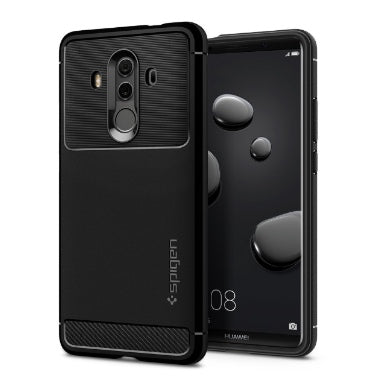 HUAWEI MATE 10 PRO PREMIUM RUGGED ARMOR CASE BLACK | SPIGEN