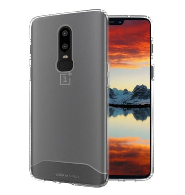 ONEPLUS 6 ULTRA SLIM ARCH CASE FROSTED CLEAR | TUDIA