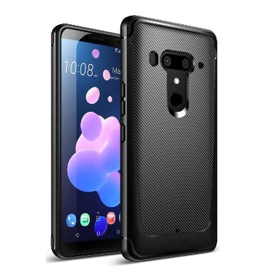 HTC U12+ PREMIUM SLIM FIT KARBON SHIELD CASE BLACK | POETIC