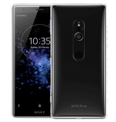 SONY XPERIA XZ2 SLIM FIT SOFT GEL CASE CLEAR | KUGI