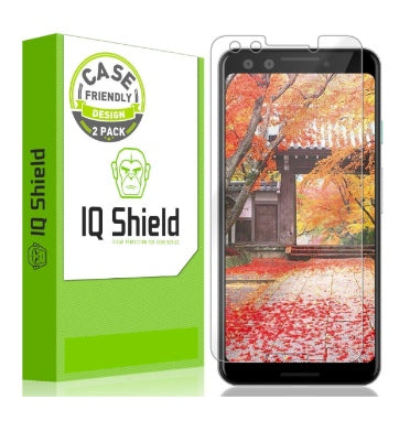 GOOGLE PIXEL 3 LIQUID SKIN SCREEN PROTECTOR 2PK | IQ SHIELD