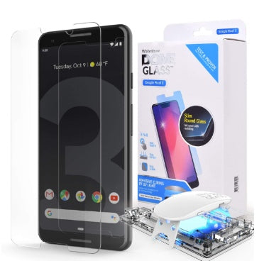 GOOGLE PIXEL 3 TEMPERED SCREEN PROTECTOR DOME GLASS | WHITESTONE