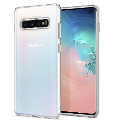 SAMSUNG GALAXY S10 PREMIUM SLIM LIQUID CRYSTAL CASE CLEAR | SPIGEN