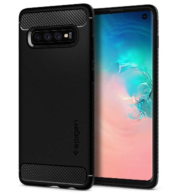 SAMSUNG GALAXY S10 PREMIUM RUGGED CASE BLACK | SPIGEN