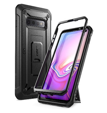 SAMSUNG GALAXY S10+ FULL BODY RUGGED PROTECTIVE CASE BLACK | SUPCASE