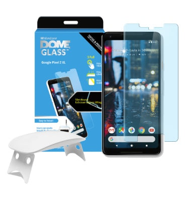 GOOGLE PIXEL 2 XL TEMPERED SCREEN PROTECTOR DOME GLASS | WHITESTONE