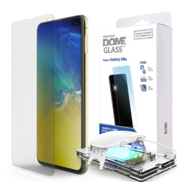 SAMSUNG GALAXY S10E TEMPERED SCREEN PROTECTOR 3D CURVED DOME GLASS | WHITESTONE