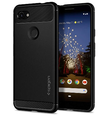 GOOGLE PIXEL 3A PREMIUM RUGGED ARMOR CASE BLACK | SPIGEN