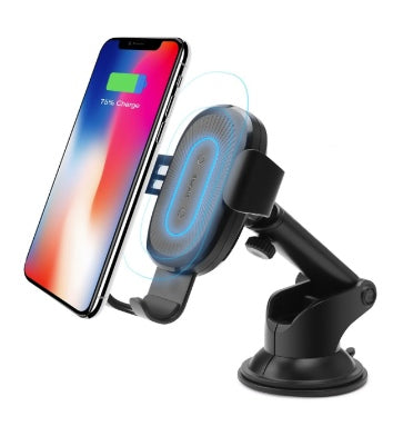 BASEUS 2-IN-1 WIRELESS CAR CHARGER AIR VENT/DASH MOUNT