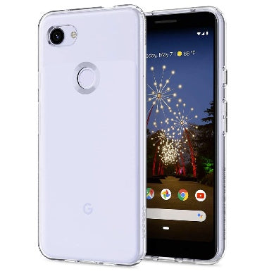 GOOGLE PIXEL 3A XL PREMIUM SLIM LIQUID CRYSTAL CASE CLEAR | SPIGEN