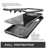 SAMSUNG GALAXY NOTE 10 FULL BODY RUGGED PROTECTIVE CASE BLACK | SUPCASE