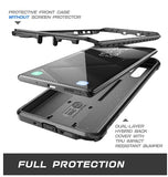 SAMSUNG GALAXY NOTE 10+ FULL BODY RUGGED PROTECTIVE CASE BLACK | SUPCASE