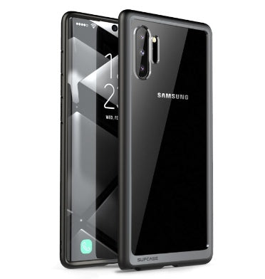 SAMSUNG GALAXY NOTE 10 PREMIUM HYBRID CASE BLACK/CLEAR | SUPCASE