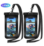 UNIVERSAL IPX8 WATERPROOF PHONE CASE WITH LANYARD 2PK | SYNCWIRE