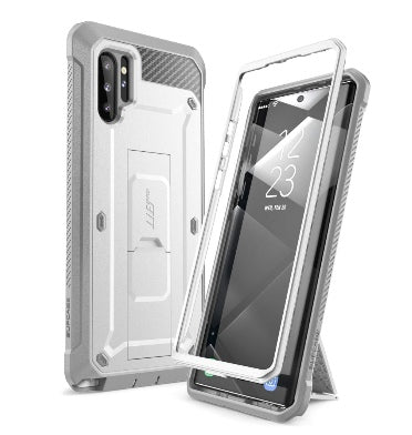 SAMSUNG GALAXY NOTE 10+ FULL BODY RUGGED PROTECTIVE CASE WHITE | SUPCASE